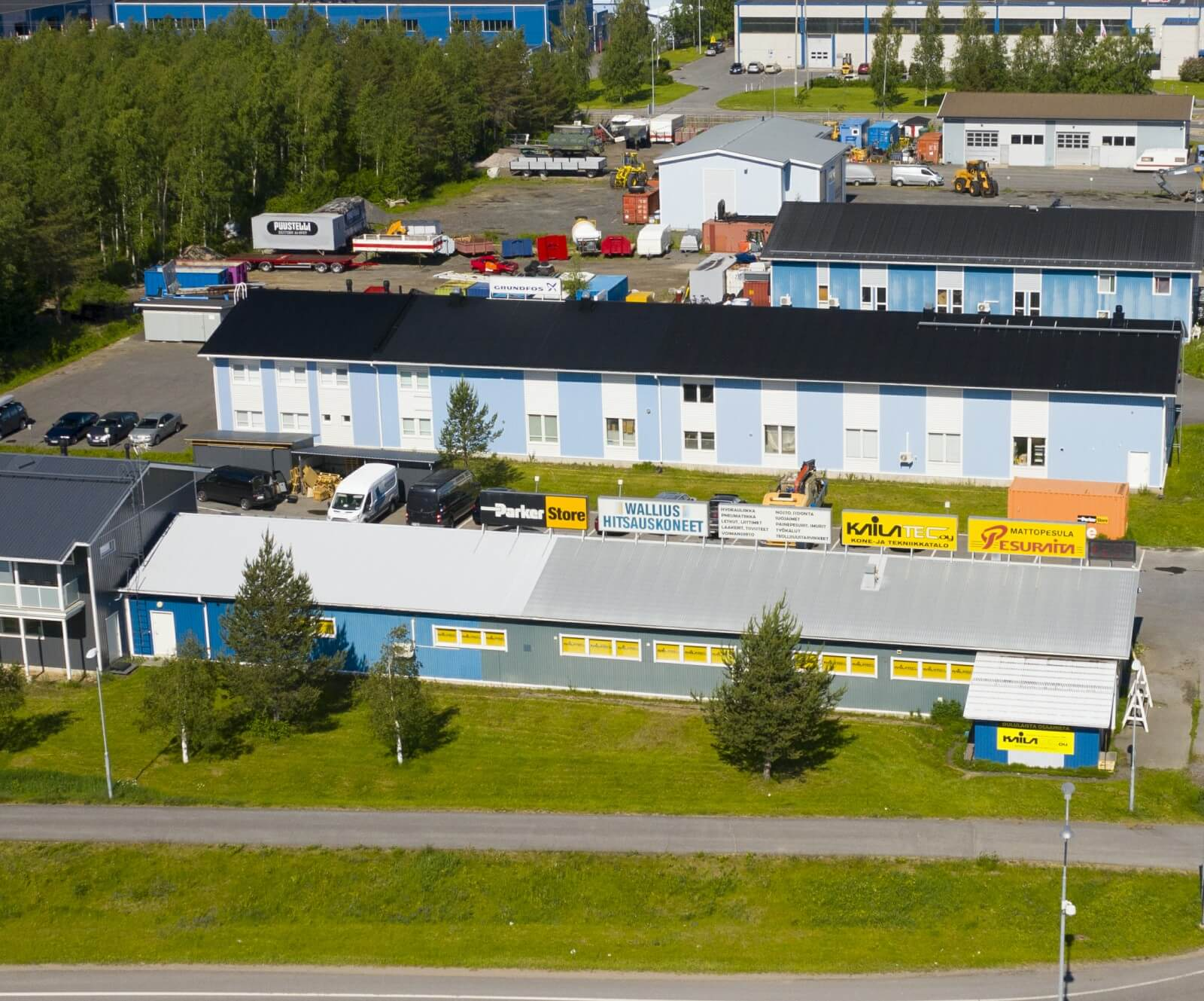 Kailatec Oy - Teollisuuden Tavaratalo Oulussa
