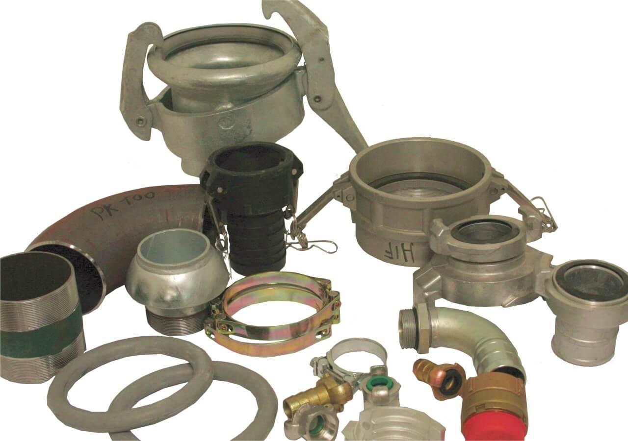 Matalapaine: Jouka-palloventtiili, purkuletkut, käsivipuventtiilit, öljy- ja bensaletkut, lokaliittimet, kynsiliittimet